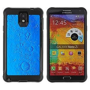 Suave TPU GEL Carcasa Funda Silicona Blando Estuche Caso de protección (para) Samsung Note 3 / CECELL Phone case / / pill sci-fi ocean virus cookie blue planet /