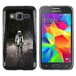 LECELL--Funda protectora / Cubierta / Piel For Samsung Galaxy Core Prime -- Psychedelic Espacio Astronauta --