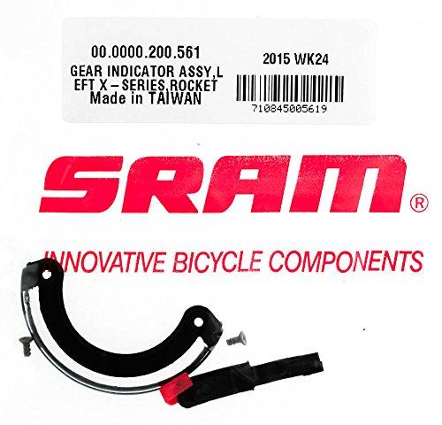 SRAM X.0, X.9, X.7 Twist Left Gear Indicator Assembly (X.7 Sram Twist)