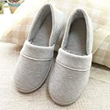 DEED Slippers - Month Shoes Spring and Summer Bags with Soft Bottom Maternity Shoes Pregnant Women Postpartum Shoes Waterproof Non-Slip Small Shoes,Grey,38