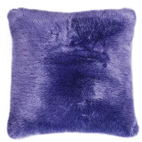 Pad Sheridan pelo sintético Cojín Purple L 45 x 45 L Lila ...