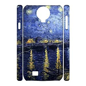 ALICASE Diy Case Van Gogh Cover For Samsung Galaxy S4 i9500 [Pattern-1] Kimberly Kurzendoerfer