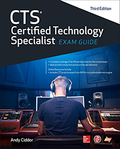 cts certified technology specialist exam guide third edition rh amazon com cts exam guide second edition cts exam guide pdf download
