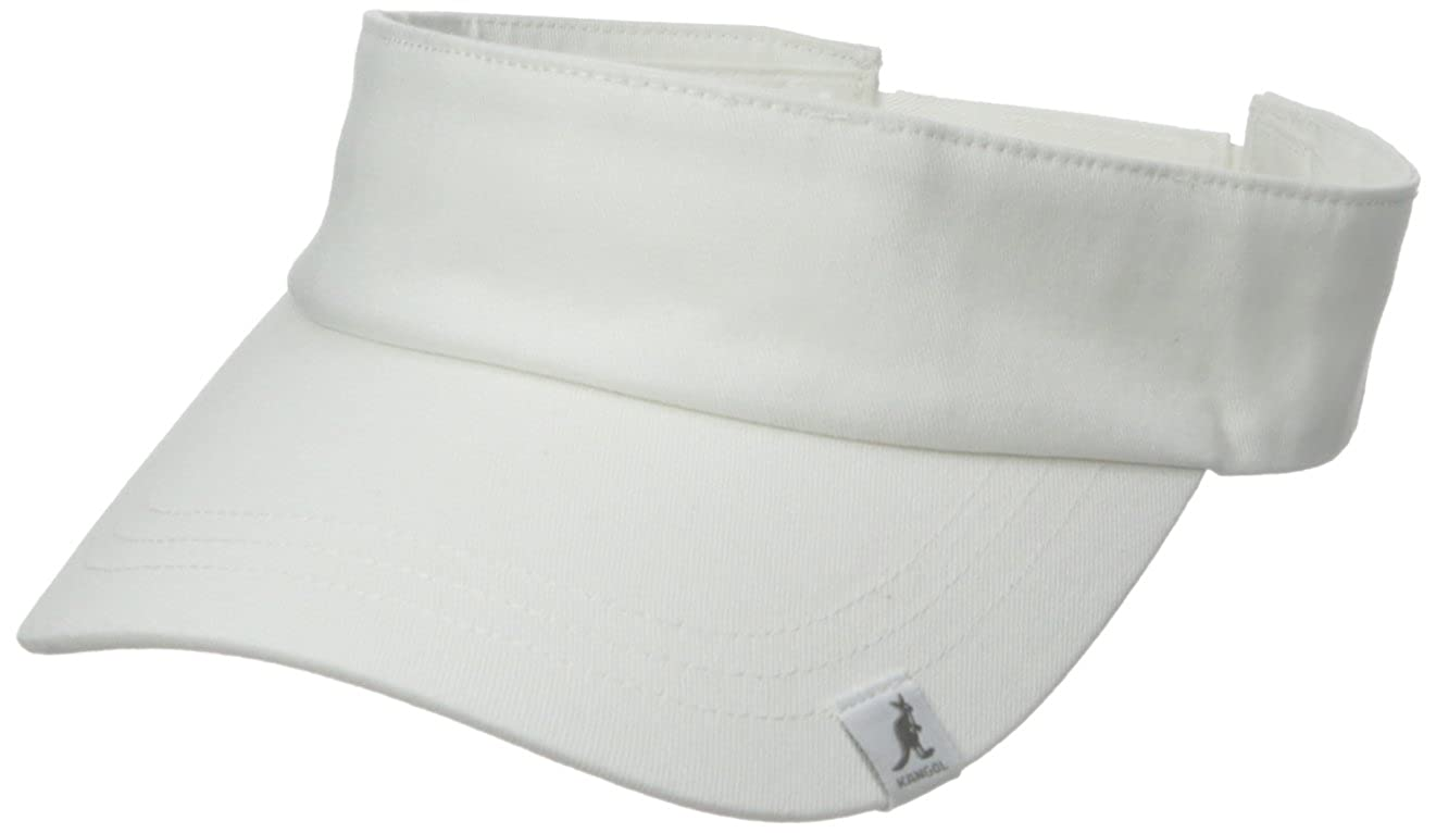 Kangol Men's Cotton Visor, Kangol Men's Cotton Visor White One Size Kangol Men's Headwear