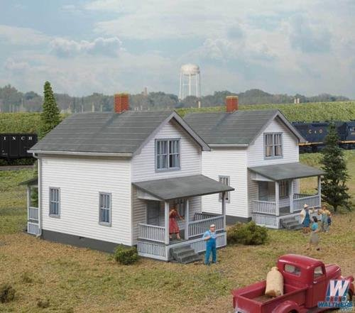 Walthers Cornerstone HO Scale Building/Structure Kit Company House ()