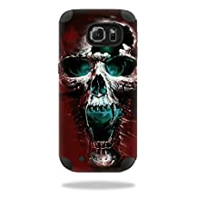 MightySkins Protective Vinyl Skin Decal for Mophie Juice Pack Samsung Galaxy S6 wrap cover sticker skins Wicked Skull