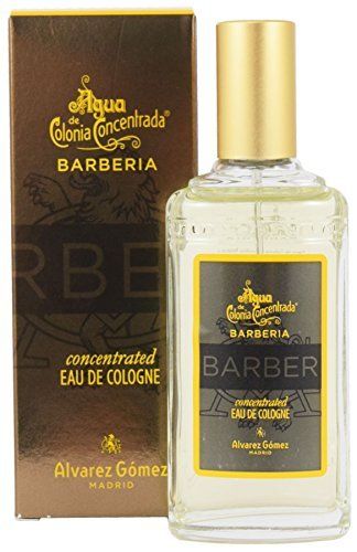 Agua de Colonia Concentrada Barberia Eau de Cologne 80ml Aromiser Spray Bottle Alvarez Gomez