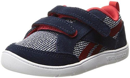 Reebok Unisex Ventureflex Chase II Sneaker, Collegiate Navy/Primal re, 2 Child US Little - Shoes Toddler Reebok