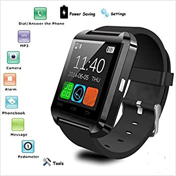 U8 Bluetooth Smart Watch, Sports Smart Fitness Smartwatch Soporte ...