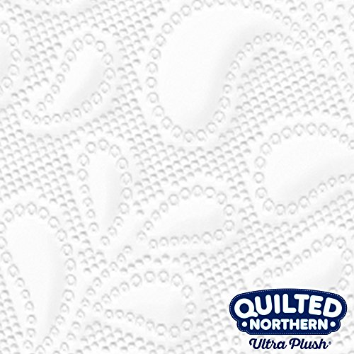 Quilted Northern Ultra Plush Toilet Paper, Mega Rolls, 9 Count of 284 3-Ply Sheets Per Roll