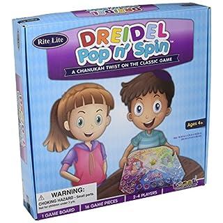 Rite Lite Dreidel Pop & Spin Chanukah Game, Multi Hanukkah