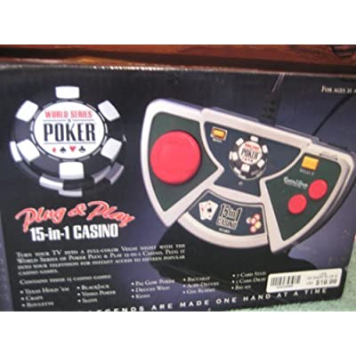 World Series of Poker 15 in 1 Casino Plug & Play: Toys & Games