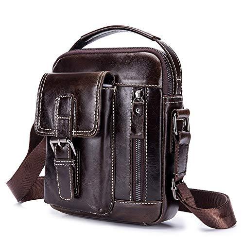 Handbags Qztg Pu Para Bolsos Browntote Classic Tote Coffee Hombre Bolso Body Zipper Shoulder Capacity Bag Large Café Cross qg6qHCx