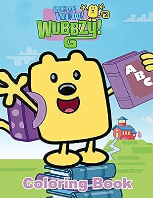Krafty Kidz Center: Wow Wow Wubbzy coloring pages   400x309