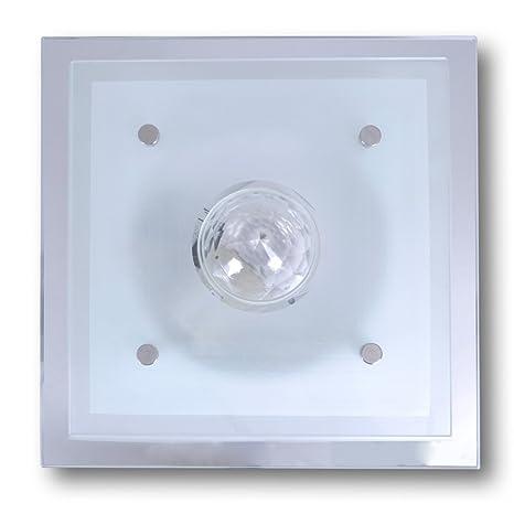 Badlampe wandlampe  vidaXL Deckenleuchte Wandleuchte Badlampe Wandlampe Glas Lampe ...