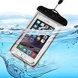ONX3 (Black) BLU Studio 5.0 CE / BLU Studio 5.0 C Universal Transparent Mobile Cell Smart Phone, Passport, Money Underwater Waterproof Protection Bag Touch Responsive