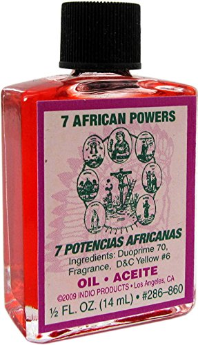 INDIO Oil- Seven African Powers 1/2oz ()