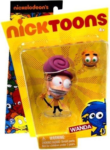 Nicktoons Fairly Odd Parents 3 Inch Action Figure - Wanda (Odd Parents Fairly Toys)