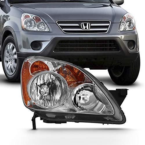 - For 2005-2006 Honda CRV CR-V [Halogen Style] 4DR Headlight Passenger Right Side Replacement 05 06 Headlamp