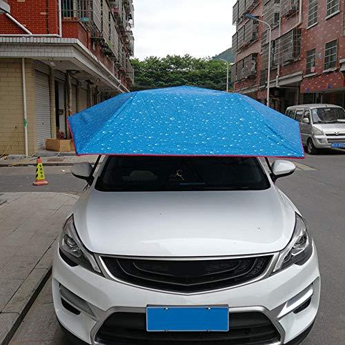 Candybush Carpa semiautomática de la presión hidráulica del Coche Paraguas Plegable Anti-UV Car Carro móvil Sun Shade Cubierta del toldo Universal: ...