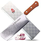 TUO Cutlery TC3002O Uchef 7'' Damascus Asia Chef Knife