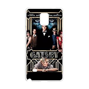 The Great Gatsby Samsung Galaxy Note 4 Cell Phone Case White toy pxf005_5803909