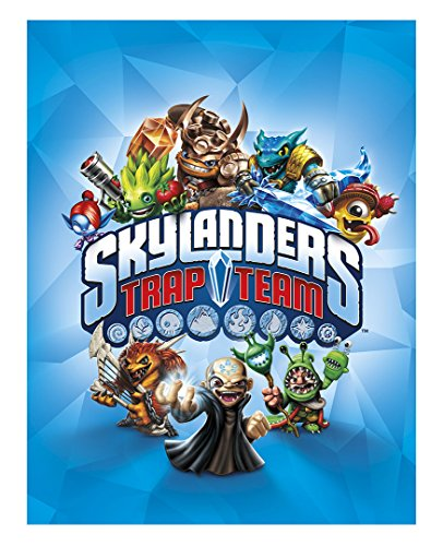 Skylanders Trap Team Edible Icing Image Cake Decoration Topper (1/2 Sheet)