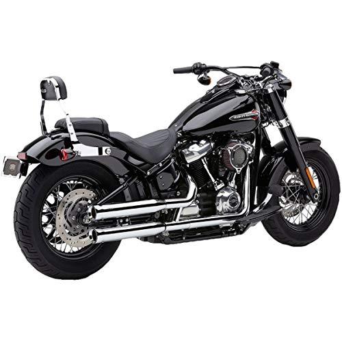 18-19 HARLEY FXBB: Cobra NH Series Slip-On Exhaust (Chrome / 3