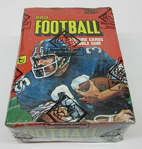 1980 Topps Football Unopened Wax Box (BBCE) (BBCE Wrapped)