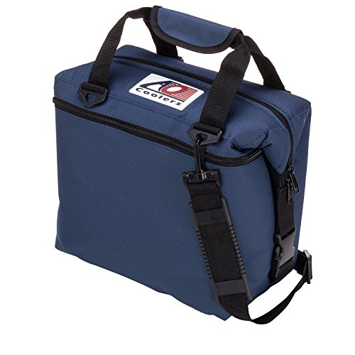 ft Cooler with High-Density Insulation, Navy Blue, 12-Can ()