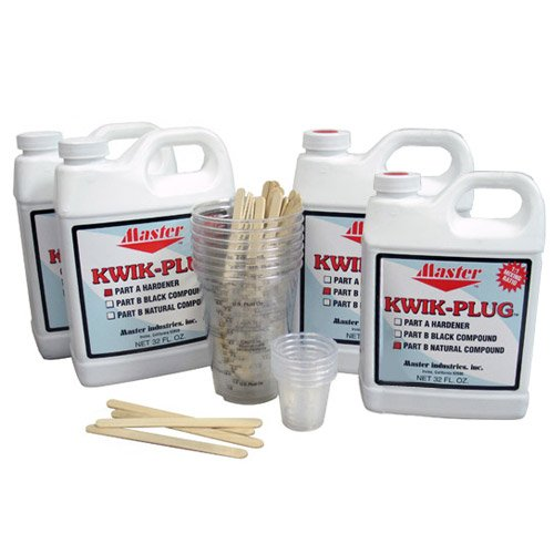 Kwik Plug Mixed 1 Gal Kit