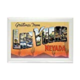 "CafePress - Las Vegas Nevada NV Rectangle Magnet - Rectangle Magnet, 2""x3"" Refrigerator Magnet"