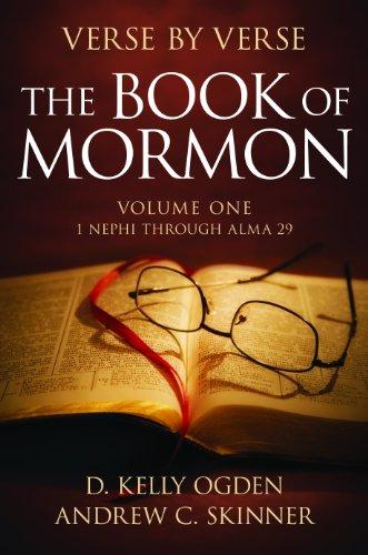 Verse by Verse: The Book of Mormon: Volume One: 1 Nephi Through Alma - Book Verses