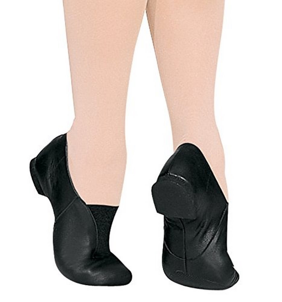 Bloch Dance Girl's Super Jazz Athletic Shoe, black, 8 Medium US Toddler