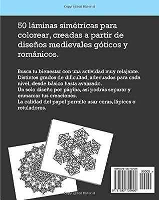 Mandalas Góticos Y Florales Láminas Antiestrés Para