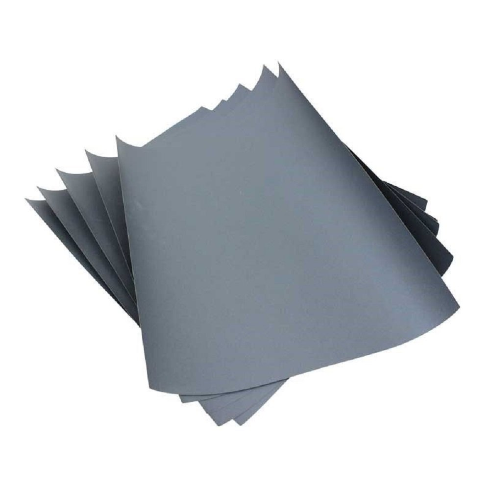 3M Imperial Wet or Dry 1000 Grit SandPaper / Abrasive Sheets 9'' x 11'' Pkg of 5