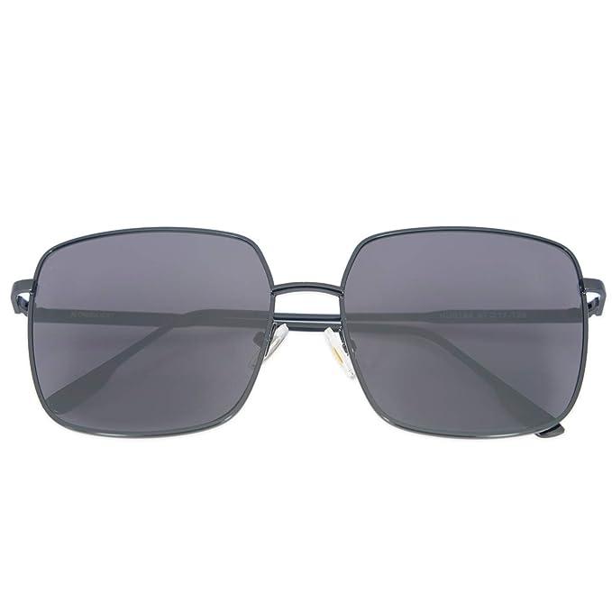 Amazon.com: Alondra Kolt - Gafas de sol cuadradas para mujer ...