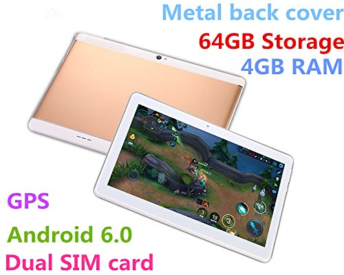 Android 2560X1600 Bluetooth Tablets TYD 108 Golden