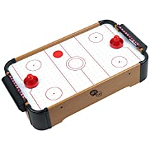 Trademark Games Mini Table Top Air Hockey Comes with Everything You Need