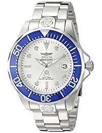 Invicta Men's 3046SYB Pro Diver Analog Display Automatic Self Wind Silver Watch