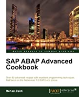 SAP ABAP Advanced cookbook Front Cover