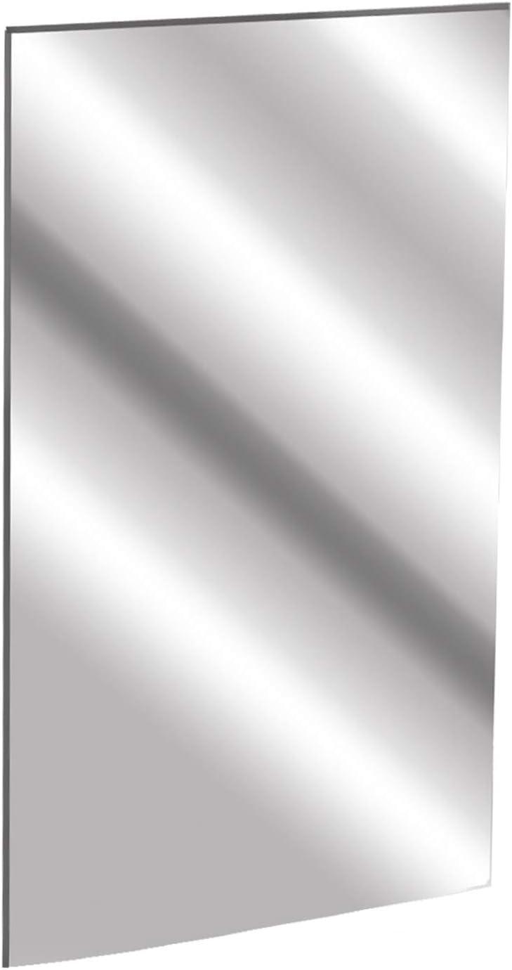 "12"" x 24"" 1/8"" Acrylic Mirror Sheet - 3mm Platic Silver Safety Mirror - Plexiglass Bathroom Mirror Board - Durable Un-Break - for Gym Dance Studio Room Depot Nursery Home Decoration Mirror…"