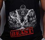 Alpha Brothers Men's Beast Gym Stringer