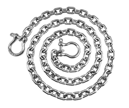 Acco Anchor - Stainless Steel Windlass Anchor Chain 316 7mm (1/4