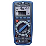 CEM DT-61 6 in 1 Digital Multimeter with Environment Measurement 20,000/40,000LUX 100dB 95%RH -4~1400F 600V 10A