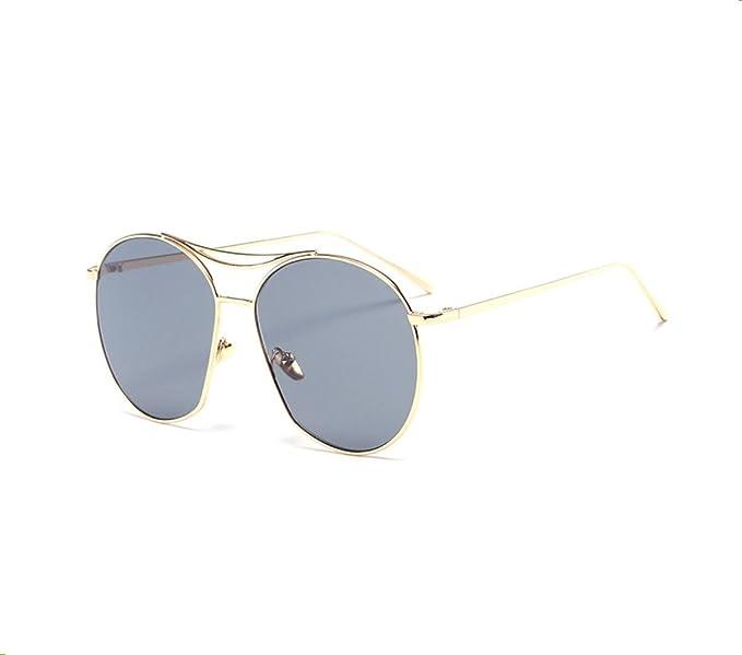 GCR Sonnenbrille Schatten Polarisierende Brille Unregelmäßige Schnittkante Retro Sonnenbrille Gelee Farbe Frosch Spiegel , C1