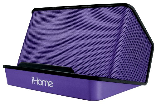 iHome Portable Rechargeable Stereo Speaker System - - Speaker Ipod Iphone