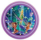 KNG Disney's Fairies LED Musical Wall Clock
