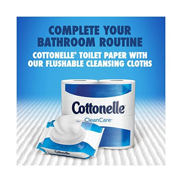 Cottonelle FreshCare Flushable Cleansing Cloths 42 Count
