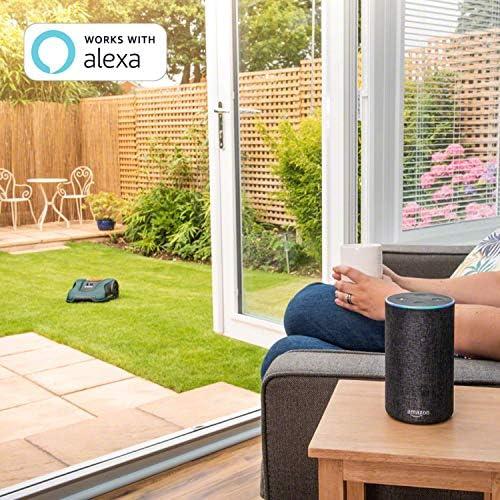 Tondeuse robot connectée Bosch - Indego S+350 (contrôle avec smartphone, largeur de coupe de 19cm, superficie jusqu'à 350m², avec accessoires) - Home Robots